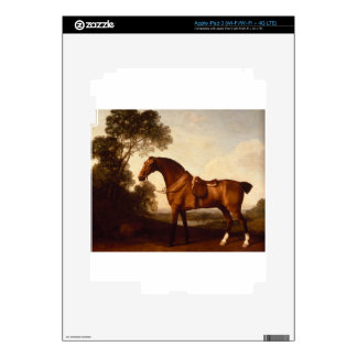 A Saddled Bay Hunter by George Stubbs iPad 3 Decals