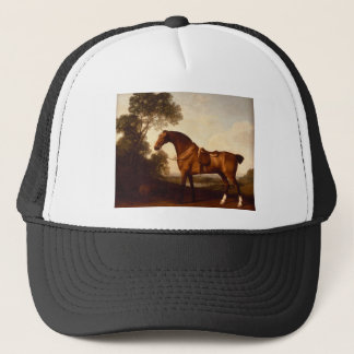 A Saddled Bay Hunter by George Stubbs Trucker Hat