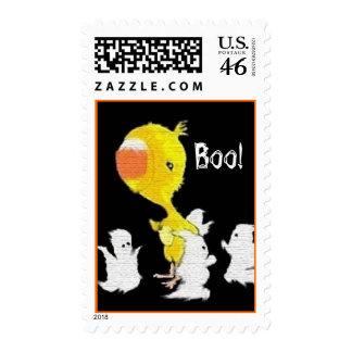 A Sadler Bird Halloween Postage