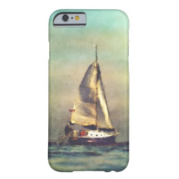 A Sailboat At Sea Barely There iPhone 6 Case