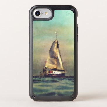 A Sailboat At Sea Speck iPhone Case
