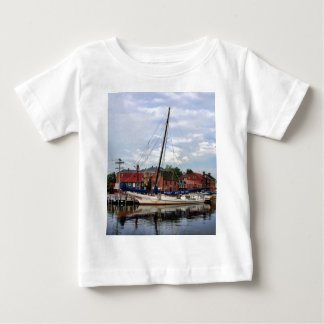 A Sailboat in Annapolis Harbor Baby T-Shirt
