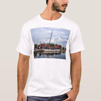 A Sailboat in Annapolis Harbor T-Shirt