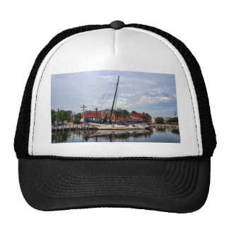 A Sailboat in Annapolis Harbor Trucker Hat