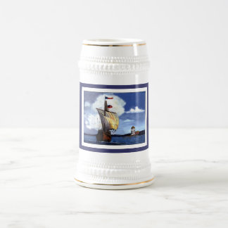A Sailin' ... - Customized Coffee Mugs