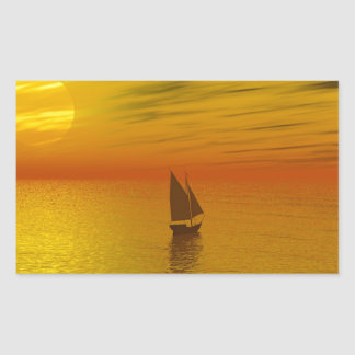 A sailing boat. stickers