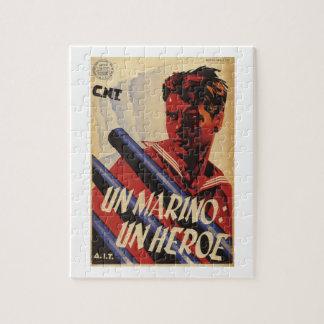 A sailor, a hero (1937)_Propaganda Poster Jigsaw Puzzle