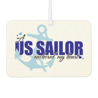 A Sailor Anchored My Heart Air Freshener