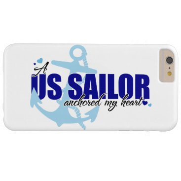Valentines Themed A Sailor Anchored My Heart Barely There iPhone 6 Plus Case