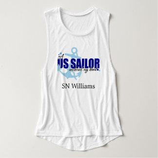 A Sailor Anchored My Heart Tank Top