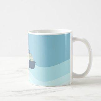 A sailors dream coffee mug