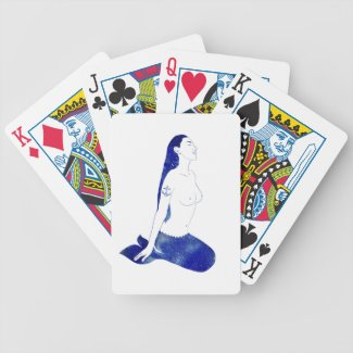 A Sailor's Dream Mermaid Playing Cards
