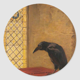A Saint, from the 'Jackdaw of Rheims' Classic Round Sticker