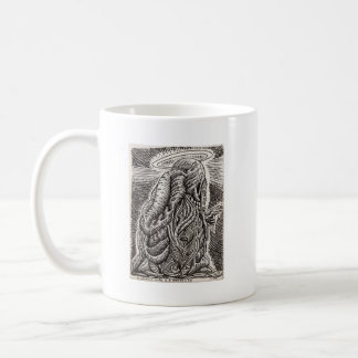 A saintly life is a wasted life... coffee mug