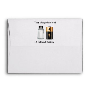 A Salt and Battery Assault and Battery Envelope