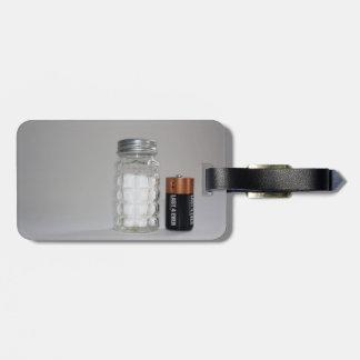 A Salt and Battery Bag Tag
