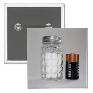 A Salt and Battery Button