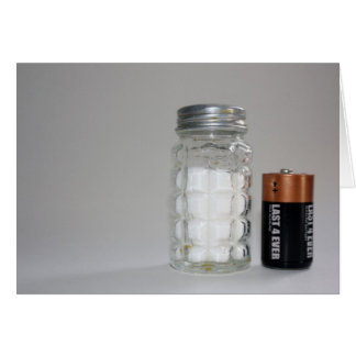 A Salt and Battery Card