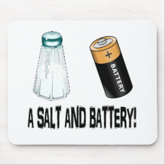 A Salt and Battery! Mouse Pad