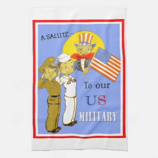 A Salute To Our US Military Kitchen Towels