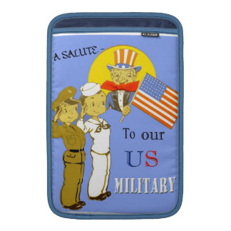 A Salute To Our US Military Macbook Sleeve