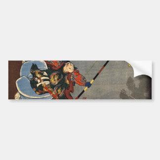 A Samurai Archer Bumper Sticker
