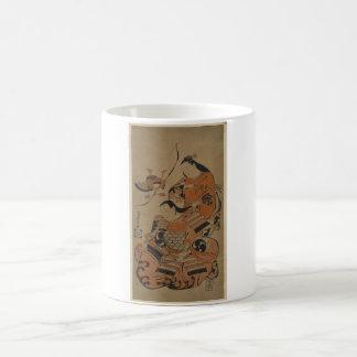 A Samurai's Wife Prepares Him for Battle c. 1713 Coffee Mug