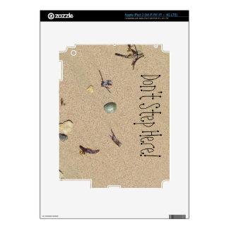 A Sandy Beach Decals For iPad 3