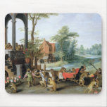 A Satire of the Folly of Tulip Mania Mouse Pad