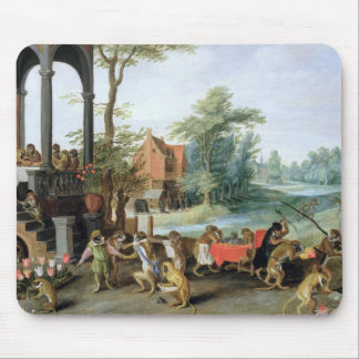 A Satire of the Folly of Tulip Mania Mouse Pads
