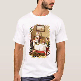 A Satisfying Meal, 1883 (oil on  canvas) T-Shirt