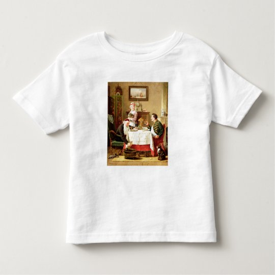 A Satisfying Meal, 1883 (oil on  canvas) Toddler T-shirt