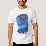A sauna in blue light, Sweden. T-Shirt