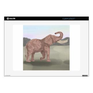A savannah elephant skin for laptop