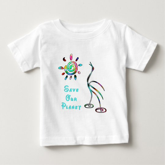 A Save Our Planet Baby T-Shirt