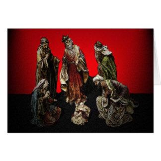 A Saviour is Born Christmas Card