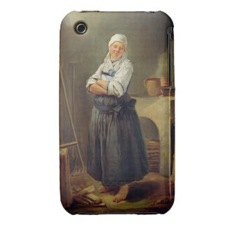 A Saxon Villager in her Kitchen (oil on canvas) iPhone 3 Covers