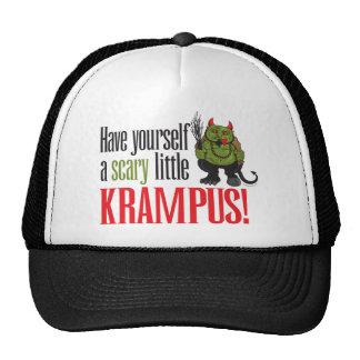A scary little Krampus Trucker Hat