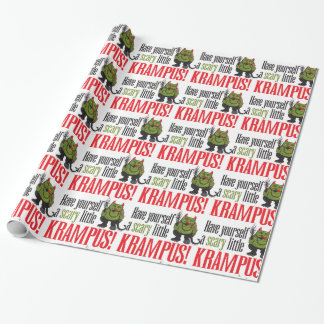 A scary little Krampus Wrap Wrapping Paper