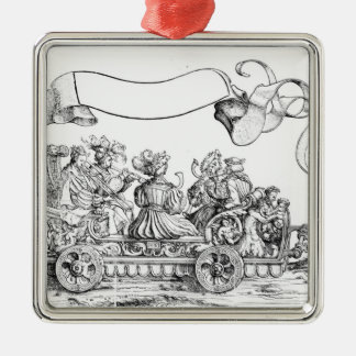 A Scene from Maximilian's Triumphal Procession Metal Ornament