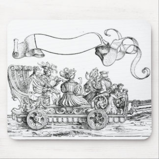A Scene from Maximilian's Triumphal Procession Mouse Pad