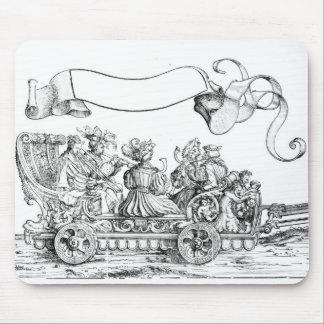 A Scene from Maximilian's Triumphal Procession Mouse Pad