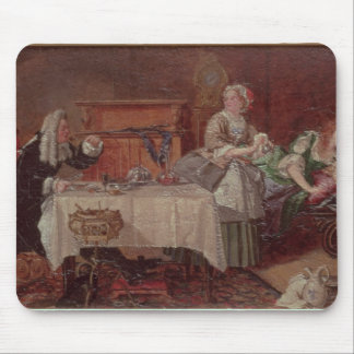 A Scene from 'Tartuffe' by Moliere, 1850 Mouse Pad