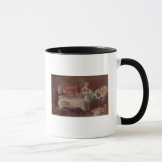 A Scene from 'Tartuffe' by Moliere, 1850 Mug