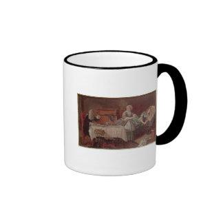 A Scene from 'Tartuffe' by Moliere, 1850 Coffee Mugs
