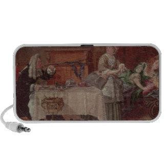 A Scene from 'Tartuffe' by Moliere, 1850 Portable Speaker