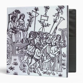 A Scene from the Decameron 3 Ring Binder