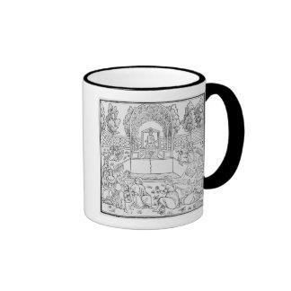 A Scene from the Decameron Ringer Mug