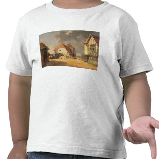 A Scene from 'The Maid of the Mill', 1765 (oil on Tshirt