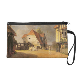 A Scene from 'The Maid of the Mill', 1765 (oil on Wristlet Purse